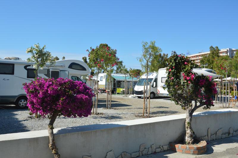 sosta camper in Sicilia
